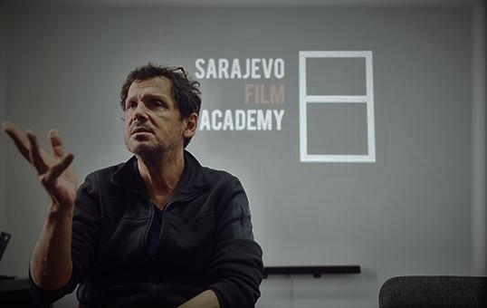 Directing workshop with Peter Webber